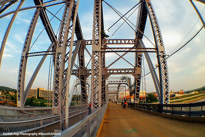Purple People Bridge, Cincinnati, Ohio