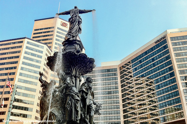 """The Genius of Water"", Tyler Davidson Fountain, Cincinnati, Ohio"