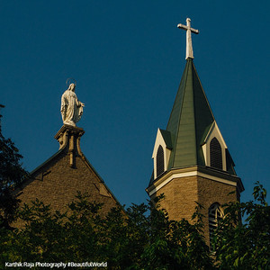 Holy Cross Immaculata Church, Mount Adams, Cincinnati, Ohio