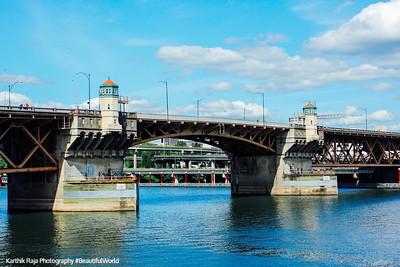 Burnside Bridge, 1926-built, bascule bridge, Portland, Oregon