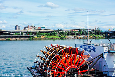 Cruising the Willamette River, Portland, Oregon