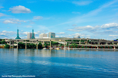 Willamette River, Portland, Oregon