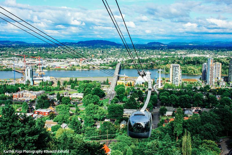 Portland Aerial Tram, Portland, Oregon