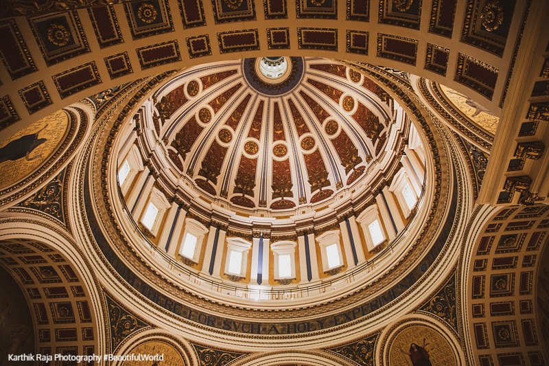 Dome, Harrisburg State Capitol Building, Pennsylvania
