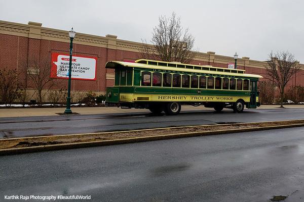 Trolley works, Hershey, Pennsylvania