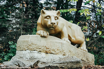 Nittany Lion, Penn State University, State College, Pennsylvania