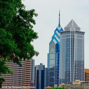 Philadelphia - One Liberty Place and Mellon Bank Center Philadelphia