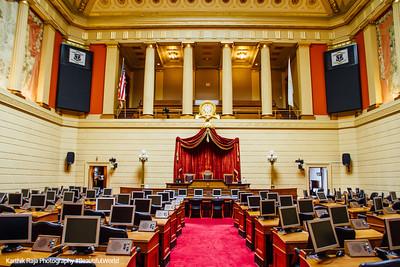 House Chamber, Rhode Island State House, Providence, Rhode Island
