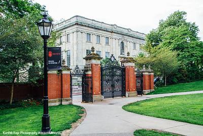 Van Wickle Gates, Brown University, Providence, Rhode Island