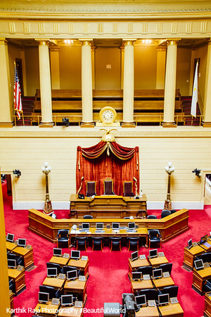 House Chamber, Rhode Island State House, Providence, Rhode Island