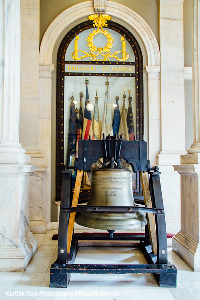 Liberty Bell, Rhode Island State House, Providence, Rhode Island