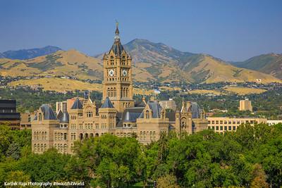 Salt Lake City Corporation - City and County Building, Utah