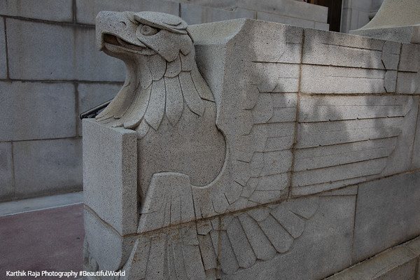 Frank E. Moss United States Courthouse, Eagle statue,  Salt Lake City, Utah