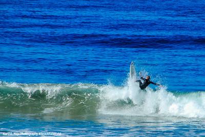Surfers, La Jolla, San Diego, California