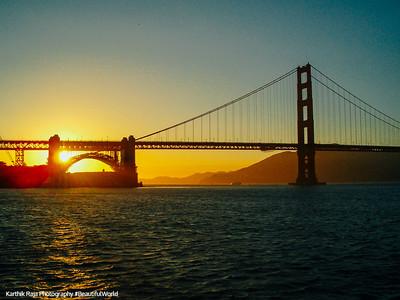 The Golden Gate Bridge, Golden Gate National Recreation Area, San Francisco, California