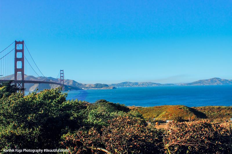 Golden Gate Bridge, Golden Gate National Recreation Area, San Francisco, California