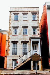 Flannery O'Connor House, Lafayette Square, Savannah, Georgia