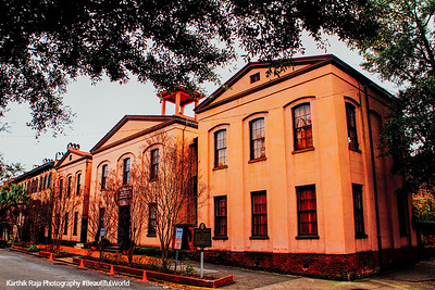 Massie Heritage Center, Calhoun Square, Savannah, Georgia