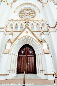 Door, Cathedral of St. John the Baptist, 1873-1896, Lafayette Square, Savannah, Georgia