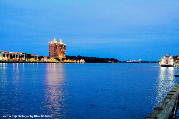 Westin Savannah Hotel, Savannah River, Hutchison Island
