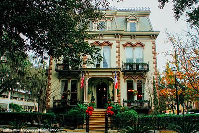 Hamilton Turner House, 1873, Lafayette Square, Savannah, Georgia