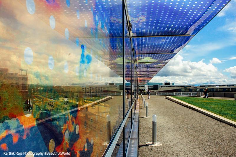 Olympic Sculpture Park - Seattle Cloud Cover, Seattle, Washington