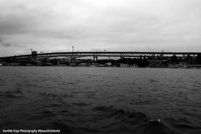 Ship Canal Bridge across Lake Union, Seattle, Washington