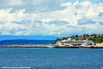 Elliot Bay, Seattle, Washington