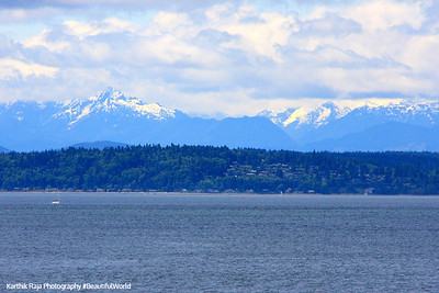 Olympic Mountains, Seattle, Washington