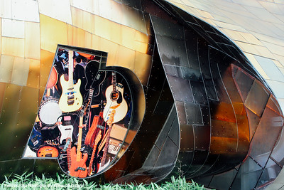 Experience Music Project - Franck Gehry architect, Seattle, Washington
