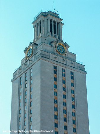 University of Texas, UT Tower, Austin TowerTexas