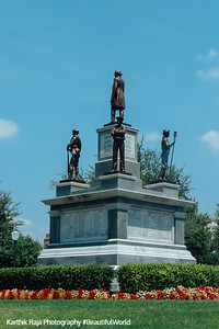 Memorial to the Confederate dead, Texas Capitol, Austin