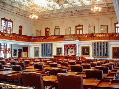 Legislature Room, Texas Capitol Building, Austin, Texas