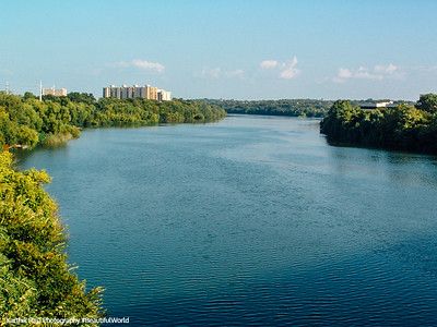 The Colorado River, Austin, Texas