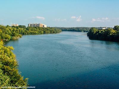 The Colorado River, Austin, Texas