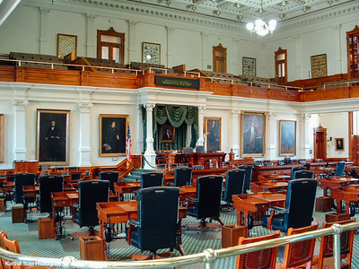 Senate Room Texas Capitol Building, Austin, Texas