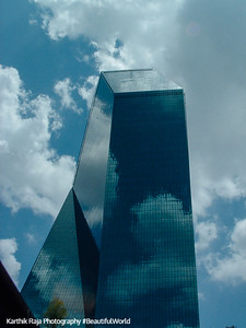 Dallas from the sunroof, Texas