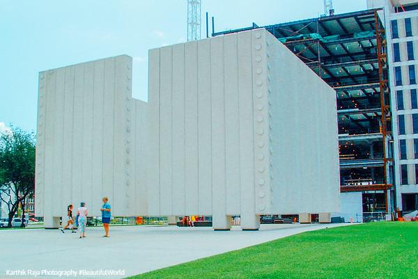 JFK memorial, Dallas