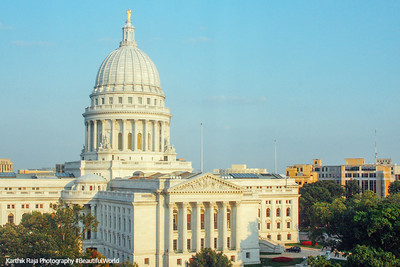 Madison Capitol designed by George B.Post & Sons, Madison, Wisconsin