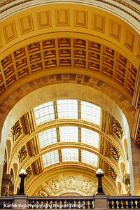 Arches, State Capitol, Madison, Wisconsin