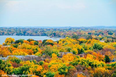 Fall over Lake Monona, Madison, Wisconsin