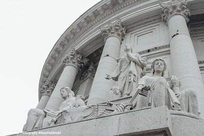 Prosperity and Abundance, Karl Theodore Francis Bitter, Madison, State Capitol, Madison, Wisconsin