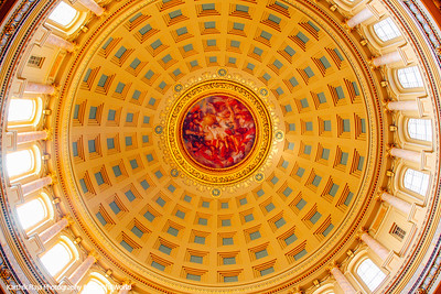 The Captiol Dome - largest by volume in the US, Madison, Wisconsin