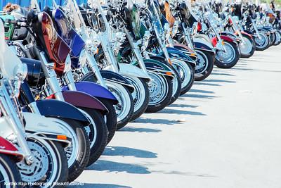 Harley Davidsons, Milwaukee, Wisconsin