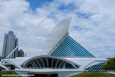 Milwaukee Art Museum, Milwaukee, Wisconsin