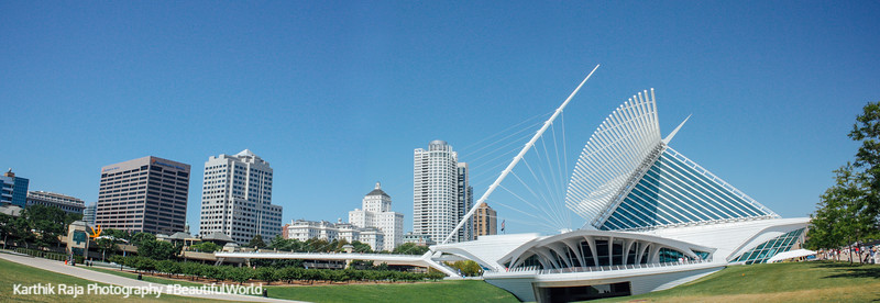 Milwaukee Art Museum, Wisconsin
