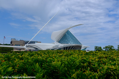 Milwaukee Art Museum, Milwaukee, Wisconsin