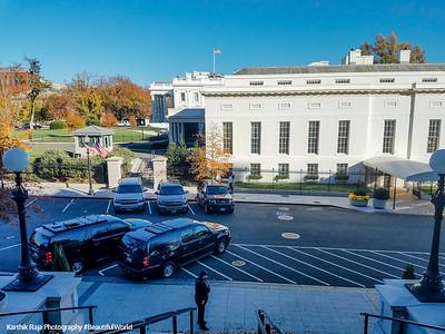 White House View, Eisenhower Executive Office Building, Washington DC