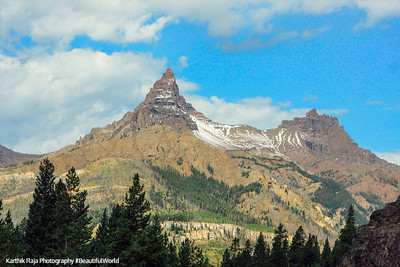 Pilot and Index peaks, Beartooth Scenic Byway, All-American Road, Montana