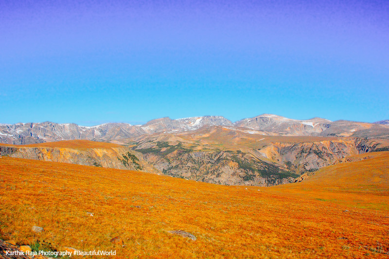 Absorka Range, Beartooth Scenic Byway, All-American Road, Montana